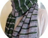 Parallel Lives Shawl: Deliciously wide, yet lightweight and soft
