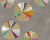 Paint by Carrie Bloomston of SUCH Designs  --  Color Wheels Spackle Gray Windham Fabrics