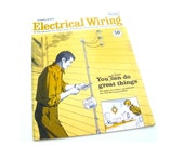 vintage 1960's Sears electrical wiring handbook guide book planning installing expanding modernizing illustrations