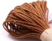 Colored String - 20 Yards of SOLID colored GOLDEN BROWN - for crafting, gift wrapping, packaging