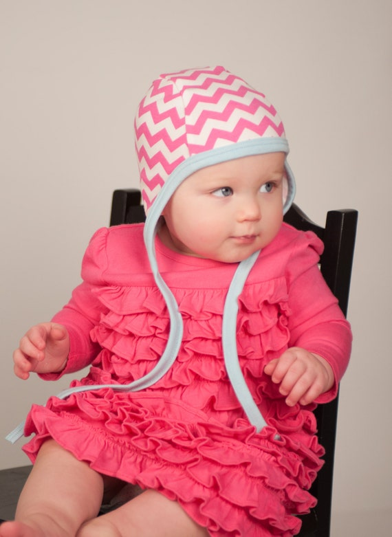 Baby Pilot Cap Knit Hat Hearing Aid Capsummer Weight Hat