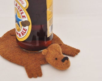 Bear Rug Coaster (one)