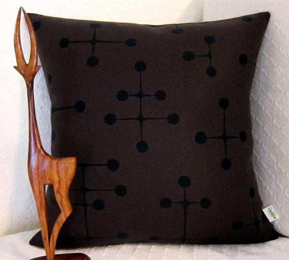 Mid Century Modern Pillows Etsy : Eames Mid Century Modern Throw Pillow Cover by atomiclivinhome