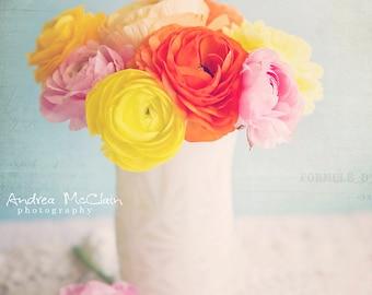 Pretty Ranunculus ~ 8x10 print