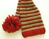 Newborn Christmas Elf Hat Ready to Ship RTS