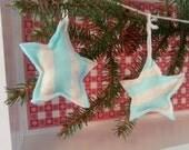 Soft Plush Star Ornaments