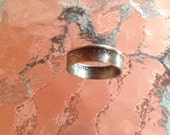 Colorado State Quarter Coin Ring by Custom Coin Rings jewelry size 5 to 12