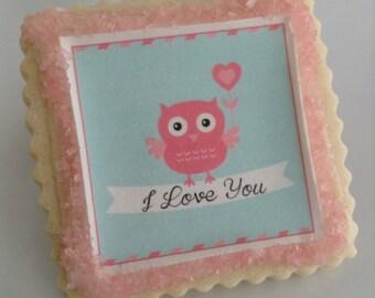 Owl cookie favors wedding shower birthday favor