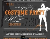 Halloween Costume Party Invitations PRINTED