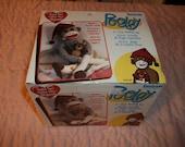 "Cute or What?...NEW In Box Janlynn ""Peejay Sock Monkey Kit~21 Inches and Sooo Cute!"