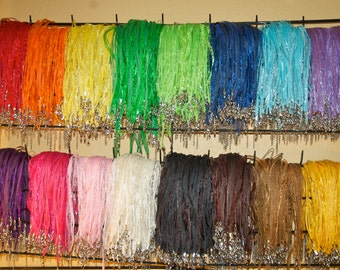 25 Ribbon Necklaces Choose your color and quantity   USA SHIPPER