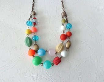 Candy necklace, colourful necklace
