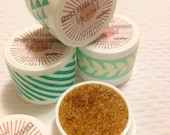 All Natural Moisturizing Brown Sugar Lip Scrub Pots