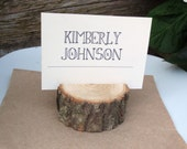 120 Wood Place Card Holders for Your Wedding or Special Event