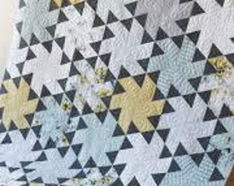 Tiny Dancer Quilt Pattern by Jaybird Quilts Hexagon Quilt Using Hex N More Ruler