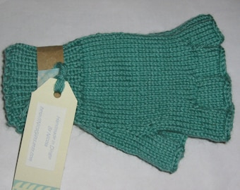 Cashmere, silk blend gloves, half finger gloves, Hand Knitted fingerless gloves.