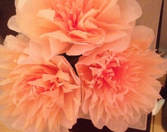 Lovely handmade paper flowers