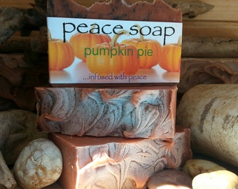 pumpkin pie peace soap