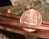Square Copper Wire for jewelry crafts Dead Soft pure copper wire - 10 gauge