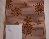 Fabric yardage - celestial motif with suns and moons
