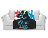 Home Decor Darth Vader Star Wars pop art fleece blanket