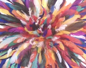 Chapeau de Juju multi couleur