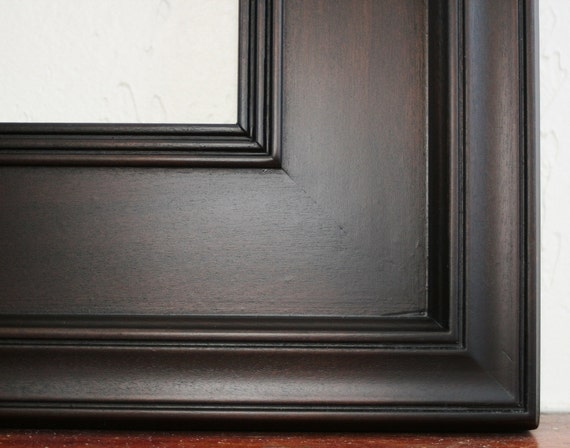 sizes 4x4 to 8x8 wood picture frame black by artcityframes. Black Bedroom Furniture Sets. Home Design Ideas