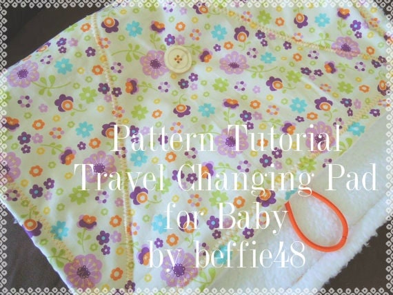 Baby Changing Pad Travel Portable Super Simple Pattern