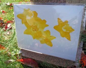 Daffodils Painting PRINT