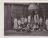 Group in a Play - Vintage Photograph, Vernacular, Ephemera  (O)