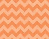 Chevron Orange Tone on Tone for Riley Blake, 1/2 yard