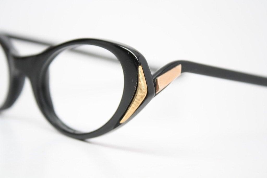 Unique Cat Eye Glasses Frame Vintage : Vintage Frames Unique Cat Eye Glasses Unused by ...