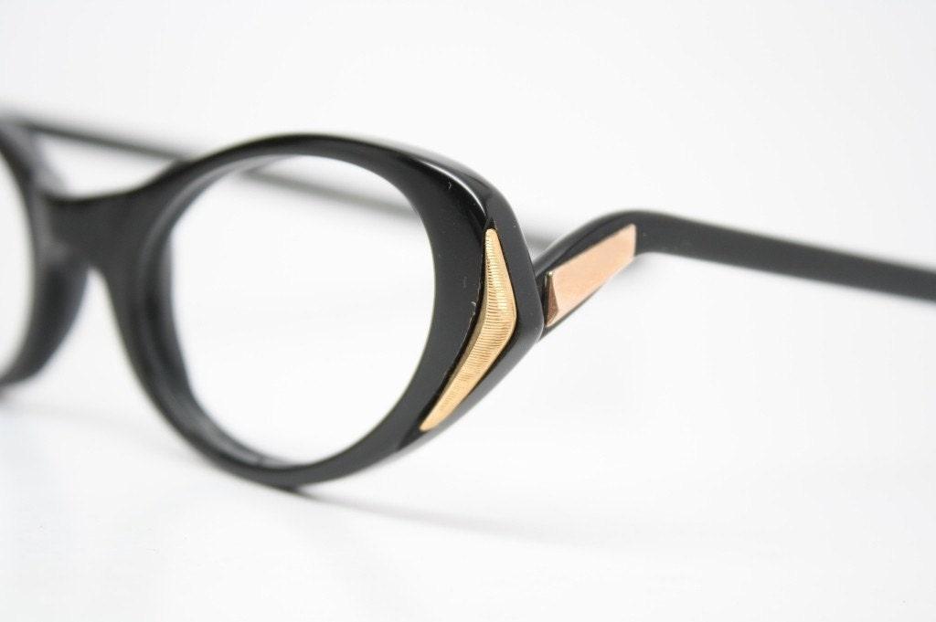 Vintage Frames Unique Cat Eye Glasses Unused by ...