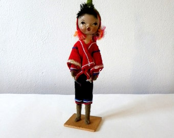 Vintage Peruvian Boy Doll