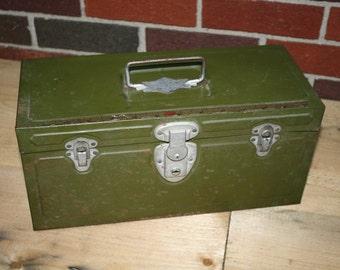 Climax Metal Utility Box - Tackle Box - Tool Box