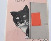 Unused Vintage Antique Retro Greeting Card  - Circa 1950s - Please write