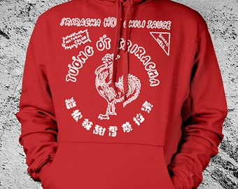 Sriracha Hoodie Hooded Sweat Shirt - ON SALE!