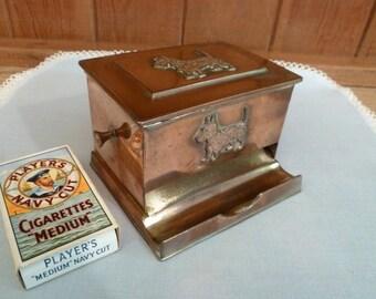 Vintage Scottie Dog Cigarette Dispenser