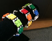 LEGO Birthday Party Favor for Kids Build and Wear Bracelet