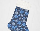 SALE Snow Dream Christmas Stocking