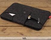 iPad mini 4 / iPad mini 3, Retina sleeve made of 100% wool felt -LLEYN- LL-T-A-0.1
