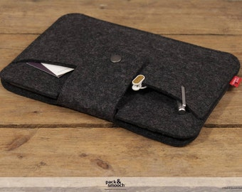 iPad mini 4 / iPad mini 3, Retina sleeve made of 100% wool felt -LLEYN- LL-T-A-0.1