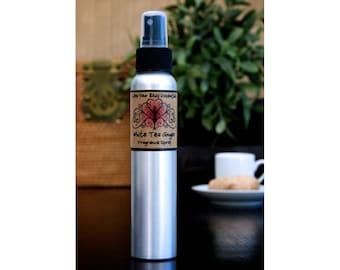 White tea ginger fragrance spray, body mist, pillow spray, floral perfume, perfume atomizer