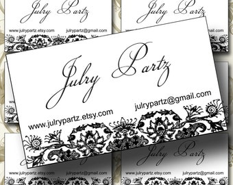 "18-DECO Business Cards, 3.5 X 2"" , Cards, Custom Business Cards, Calling Cards"