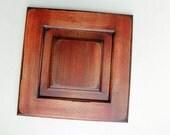 Reclaimed Wood Door -Cranberry - DIY wall decor - eco-friendly home decor