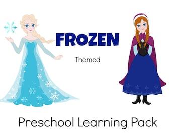 Frozen Themed Preschool Pack