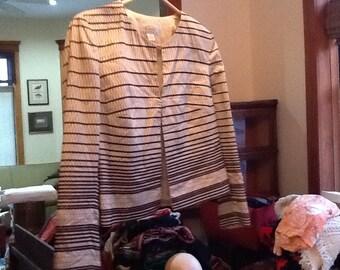 Vintage Authentic TALBOTS Blazer TALBOTS Jacket 1990s 8P Cotton