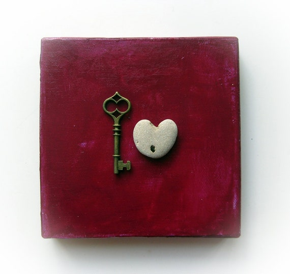 Unique Gift for him - Gift For lover - One of a kind - For Boyfriend - For Fiance -Unique Christmas Gift for him - the key to my heart - S34