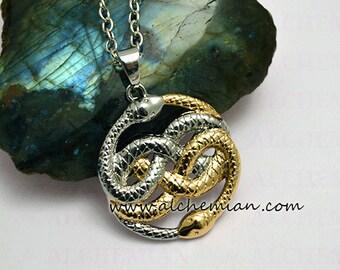 Auryn T- double colour Necklace