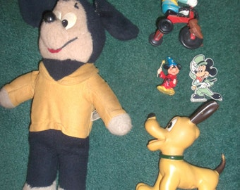 70s/80s Mickey Mouse 5 Piece Lot